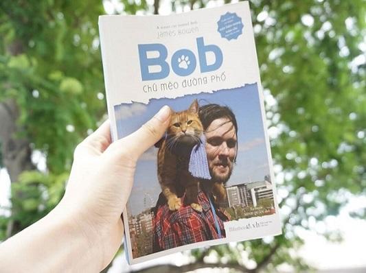 reviewsach bob chú mèo đường phố - Copy