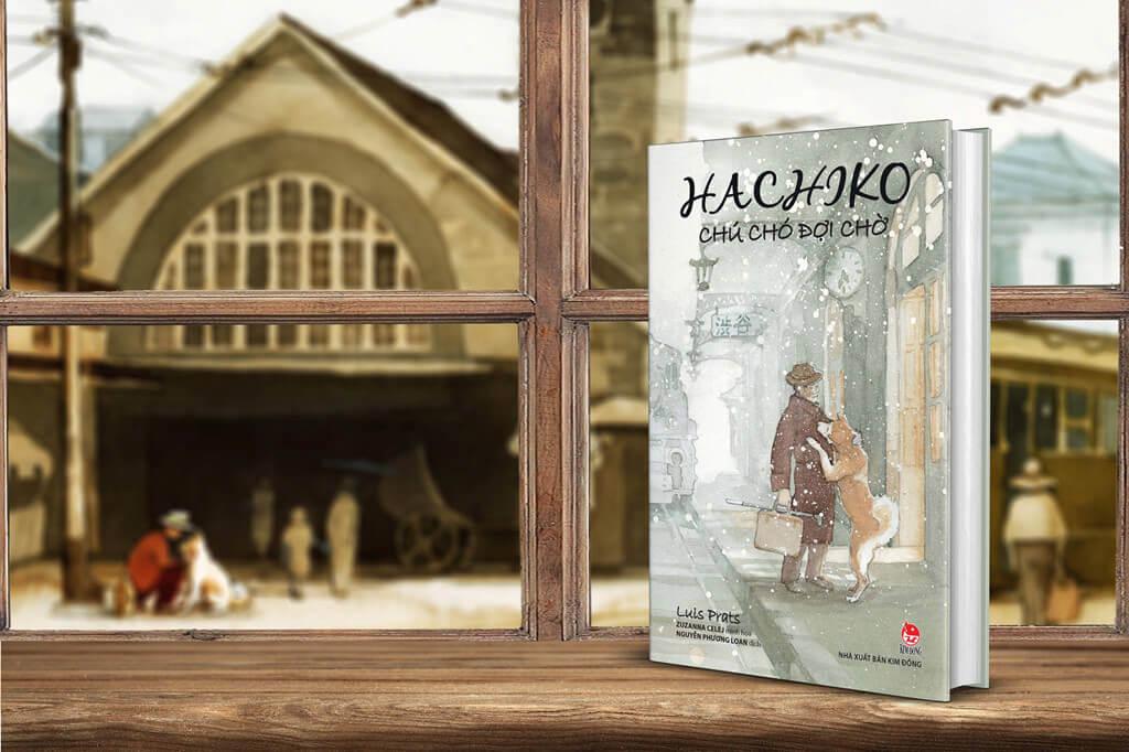 Hachiko Chú chó đợi chờ : Viết cho cậu vào một ngày nắng đẹp