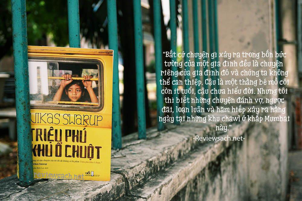 review sách triệu phú khu ổ chuột
