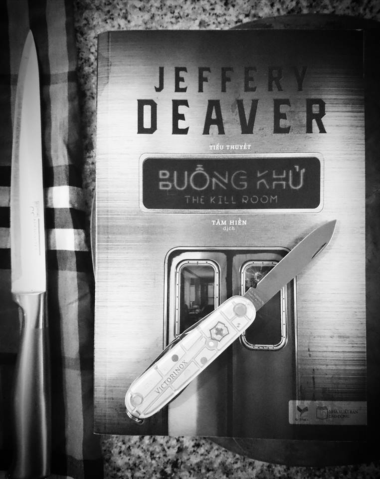 Review sách Buồng Khử Jeffery Deaver