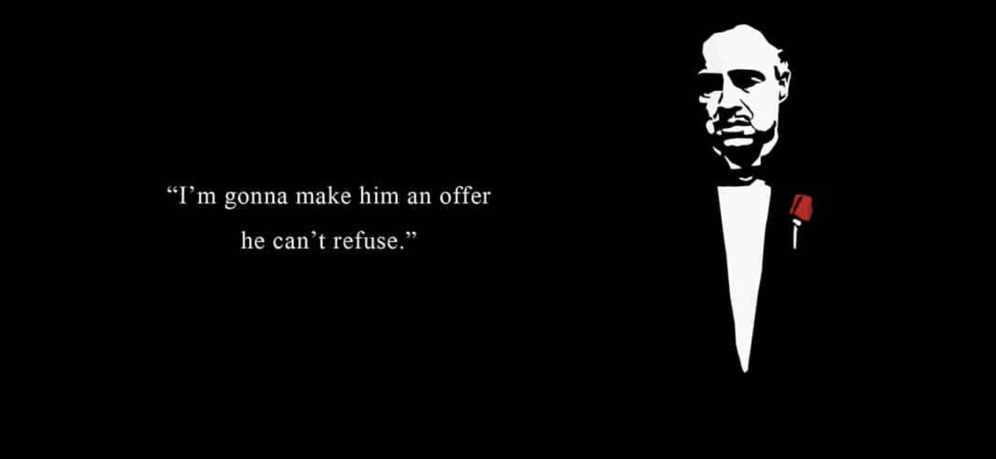 Mario Puzo Don Corleone Quote