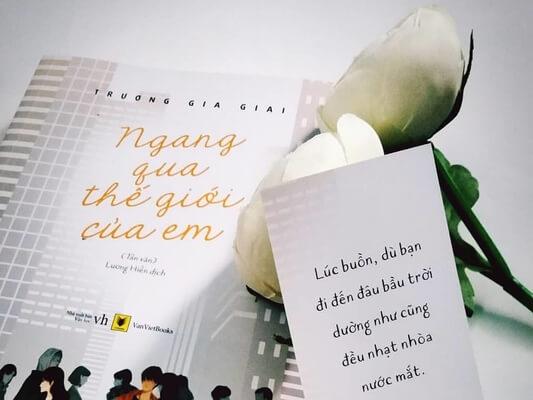 Review sách Ngang Qua Thế Giới Của Em Trương Gia Giai reviewsach.net