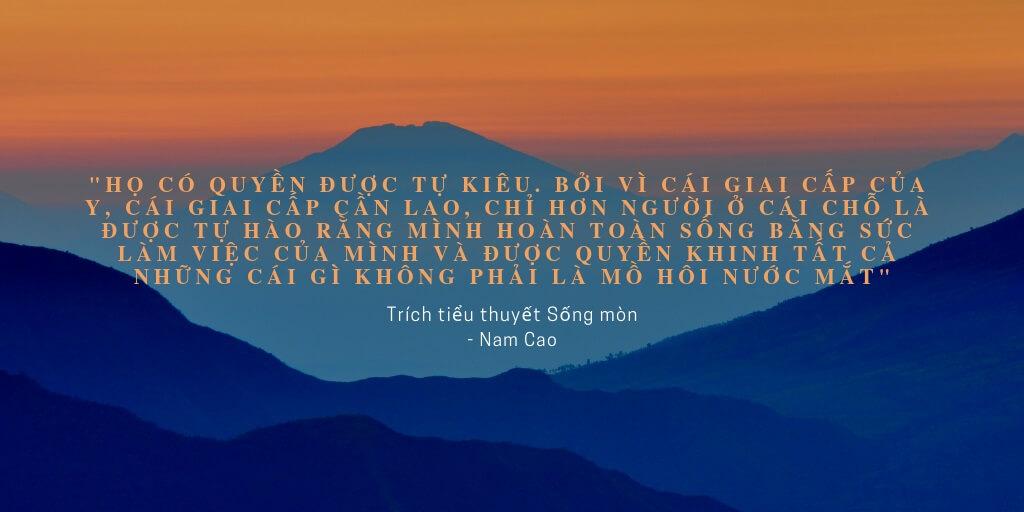 Trích dẫn từ tiểu thuyết Sống Mòn _ Nam Cao (reviewsach.net)