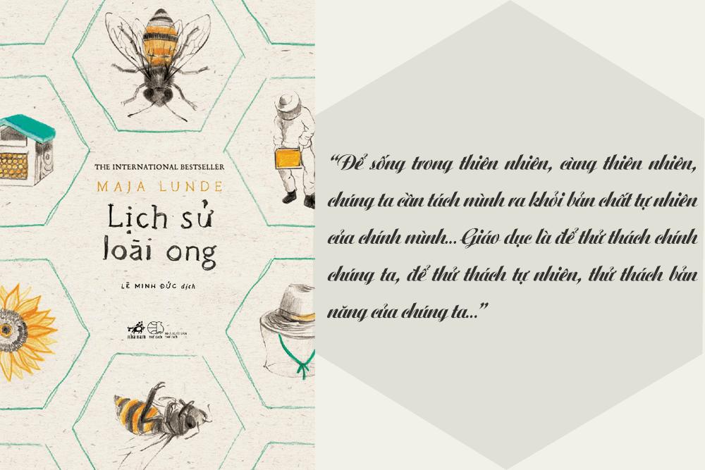 Review lịch sử loài ong - reviewsach.net