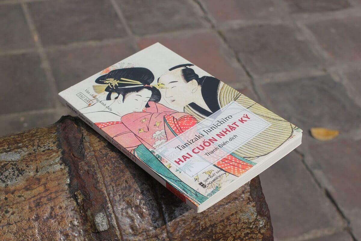Ảnh Tao Đàn tanizaki junichiro hai cuốn nhật ký reviewsachonly (2)