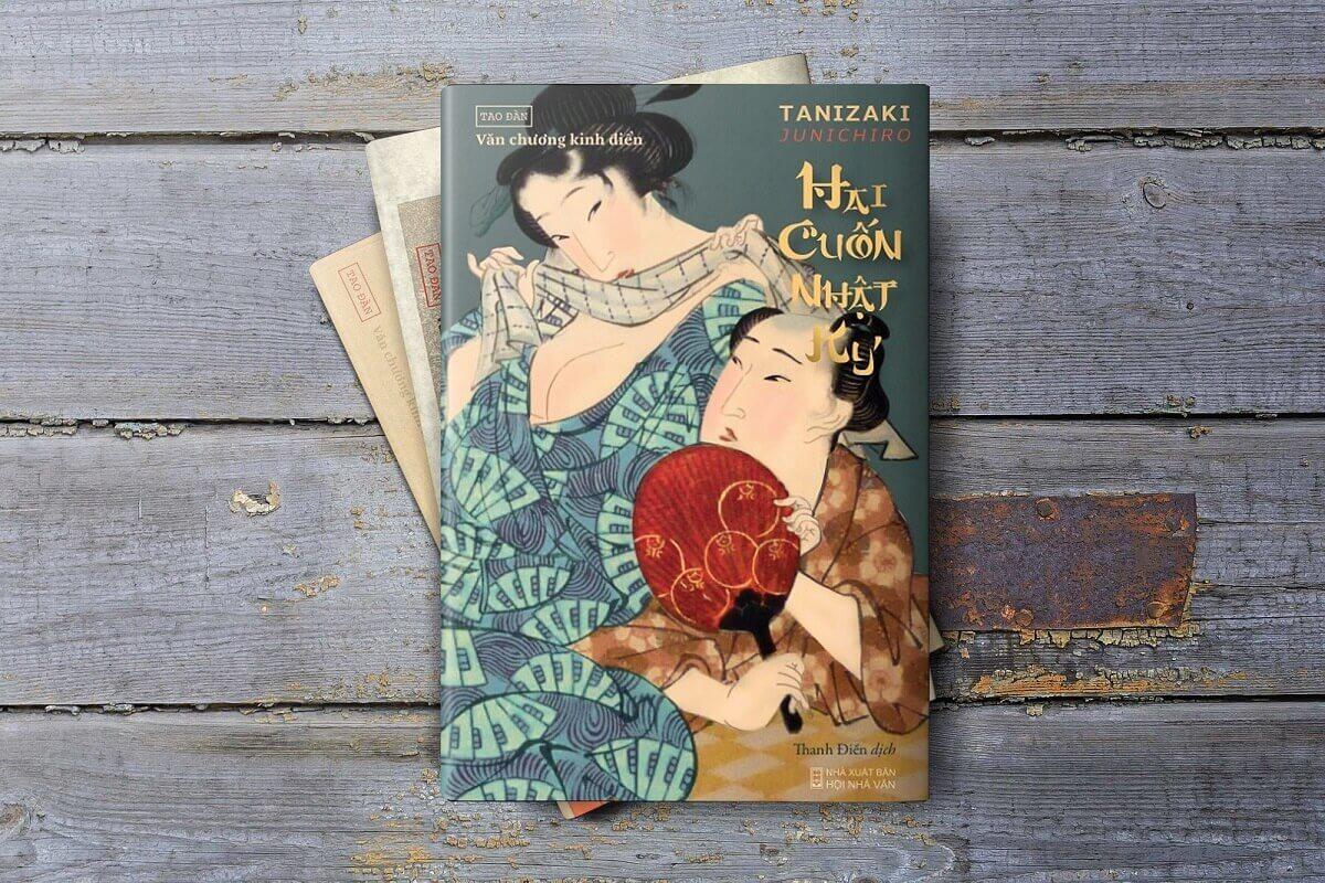 Ảnh Tao Đàn tanizaki junichiro hai cuốn nhật ký reviewsachonly (4)