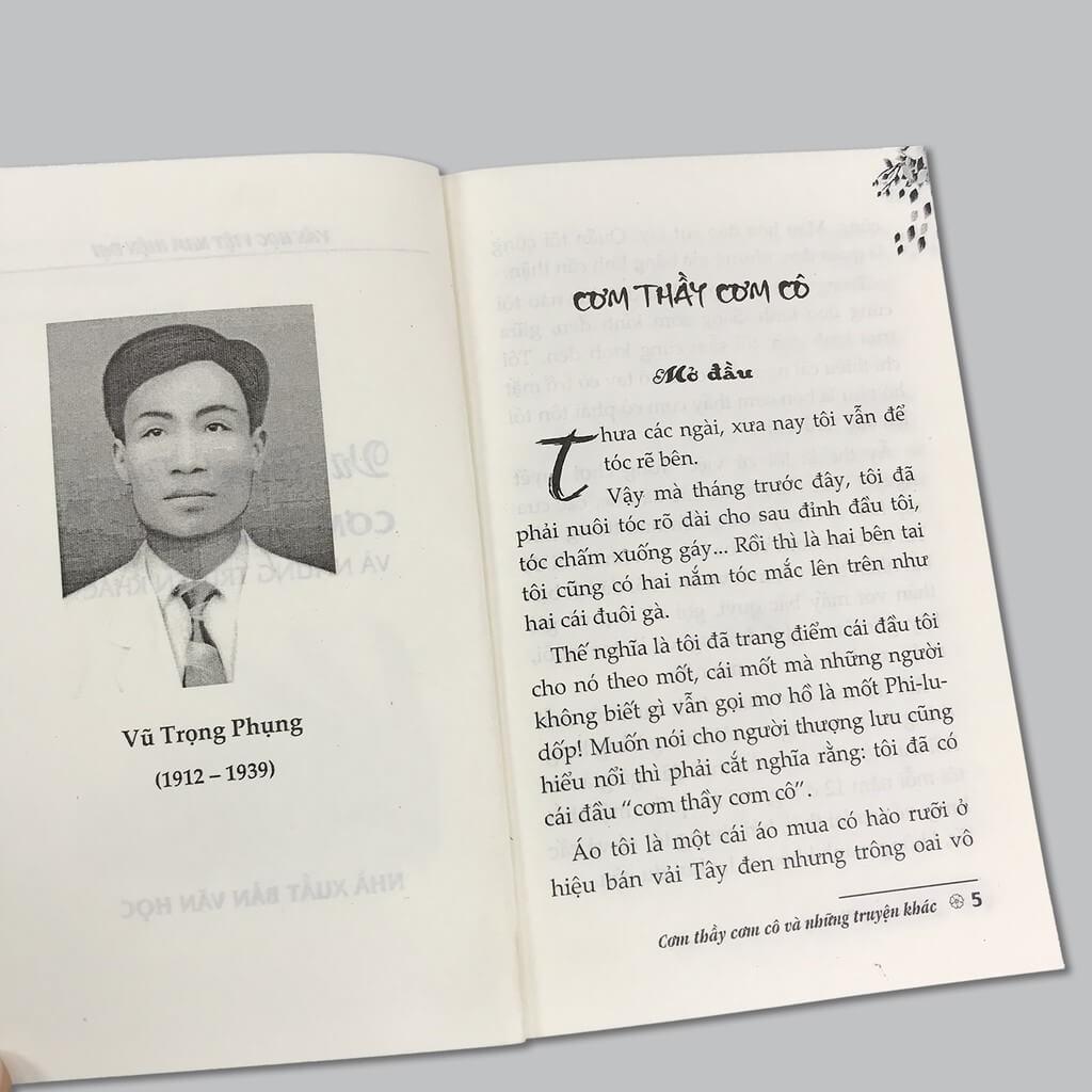 Cơm thầy cơm cô Vũ Trọng Phụng reviewsachonly