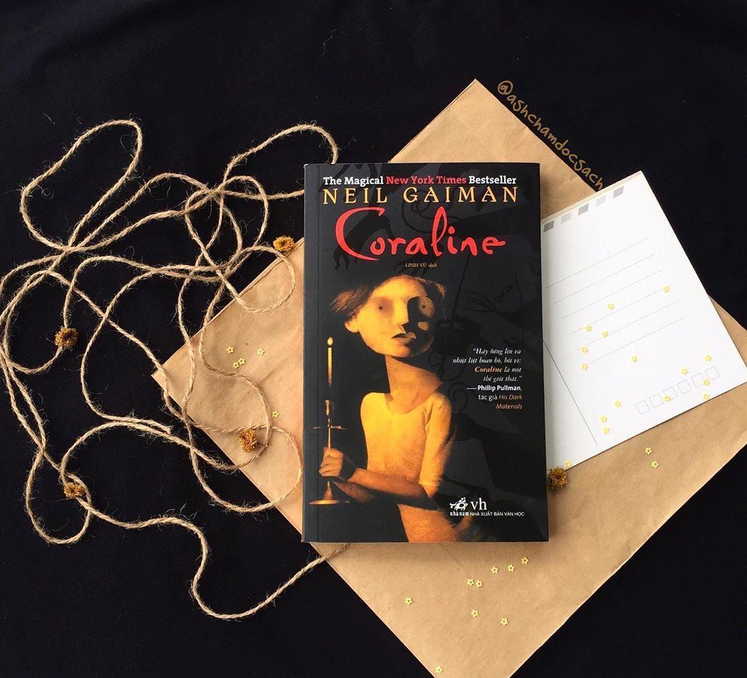 Ảnh ashchamdocsach Coraline reviewsachonly