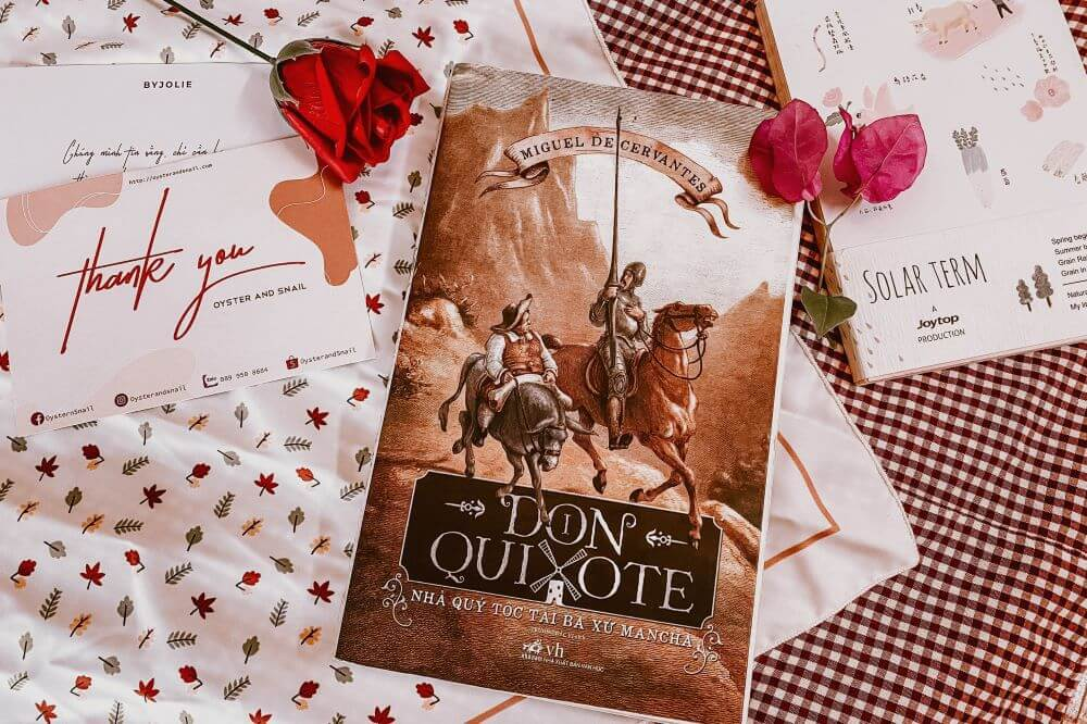 Don Quyxote-Review sach
